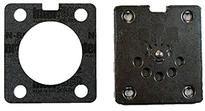 Porter Cable Air Compressor Replacement (2 Pack) Valve Plate w/Lower Gasket # N017592SV-2pk
