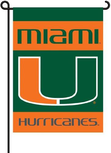 NCAA Miami Hurricanes 2-Sided Garden Flag