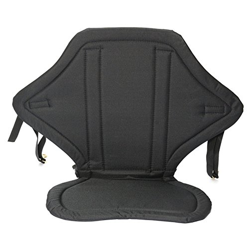 - GYMTOP Kayak Seat with Back Support and Storage Bag - Adjustable Sit on Top Seat Cushion Pad with Backrest for kayaking, Canoe Fishing, Boat Rafting