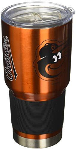 Boelter MLB Baltimore Orioles 30 oz. Ultra Tumbler MLB Baltimore Orioles, Black, - Orioles Baltimore Mug Coffee