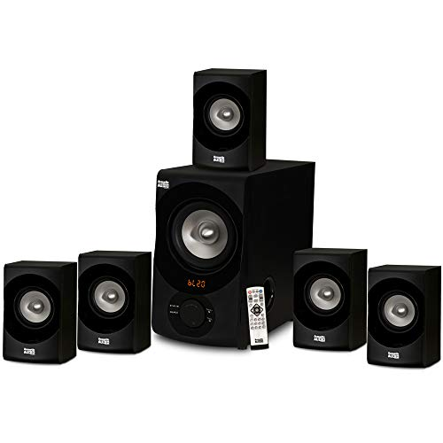 Acoustic Audio Aa5170 Home Theater 5 1 Bluetooth Speaker