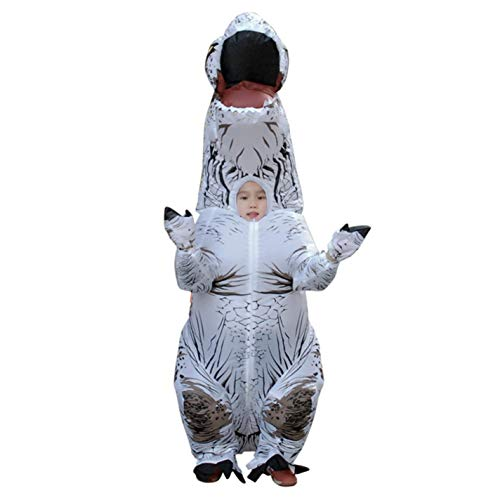 Inflatable Dinosaur T REX Costumes Fantasia Kids Cosplay Girls -