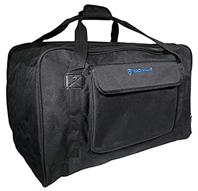"Rockville Weather Proof Speaker Bag Case For (1) Rockville RPG122K 12"" Speaker by Rockville"