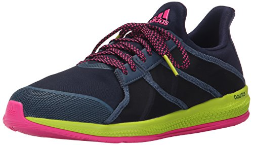 adidas Performance Women's Gymbreaker Bounce Training Shoe,Collegiate Navy/Blue/Shock Pink,8 M US