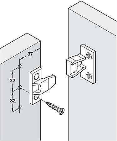 KEKU Push in Fittings Press Fit panel clips Plinthe Fasteners Heavy Duty qualité