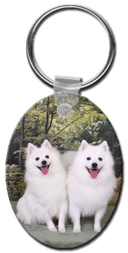 can Eskimo Oval Key Chain ()