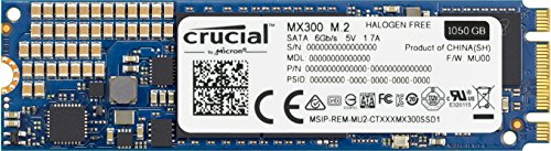 Crucial MX300 1TB SATA 2.5 Zoll Interne Solid State Drive - CT1050MX300SSD1