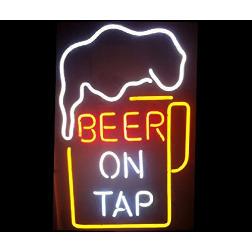 "Desung New 20""x16"" Beer On Tap Neon Sign (Multiple Sizes"