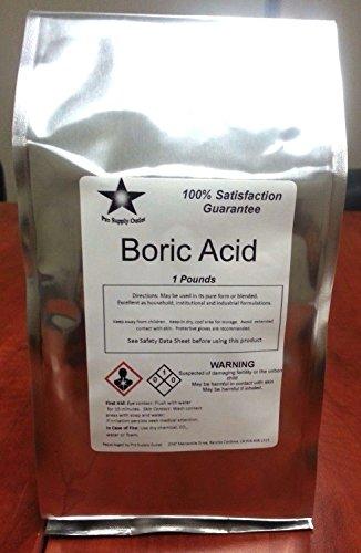 Boric Acid Fine Granular 99% Pure 2 oz to 16 oz (16 ()