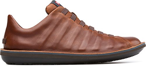 (Camper Men's Beetle Fashion Sneaker, Brown, 43 EU/10 M US)