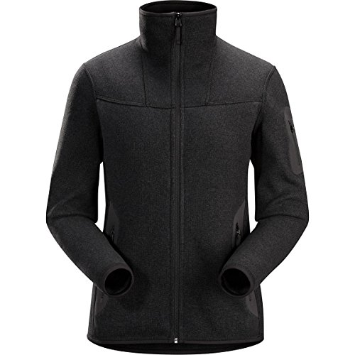 Jacket Arcteryx Fleece - Arc'teryx Women's Covert Cardigan Black Heather Medium
