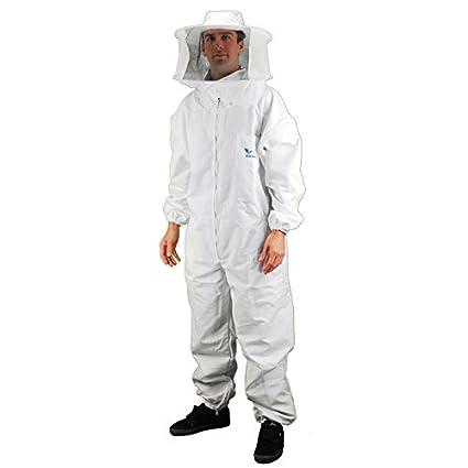 Amazon.com: Los apicultores Abeja Suit con extraíble velo ...