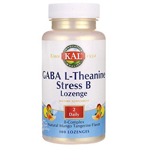Kal Gaba L-theanine Stress B Mango Tangerine, 100 Count