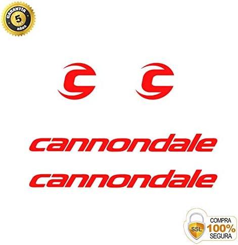 Sticker Decorativo Bicicleta Pegatinas para Bici Juego de Adhesivos en Vinilo para Bici Cannondale 3 Pegatinas Cuadro Bici