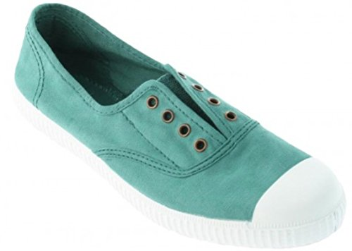 Victoria Womens Canvas Inglesa Elastico Fashion Sneakers Made in Spain Pino YHSDtMjV6