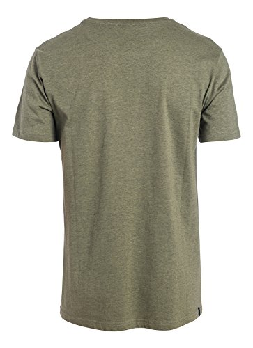 Rip Curl Rounded Ss Tee Maglietta, Dusty Olive Mar, L