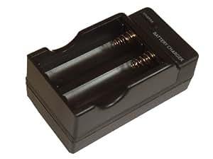 Cargador para baterías / pilas Li-Ion tipo 14500 y 18500.