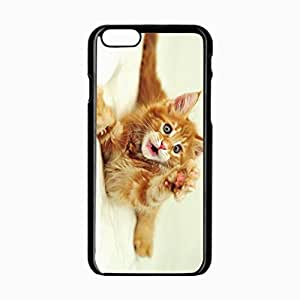 iPhone 6 Black Hardshell Case 4.7inch furry paw Desin Images Protector Back Cover
