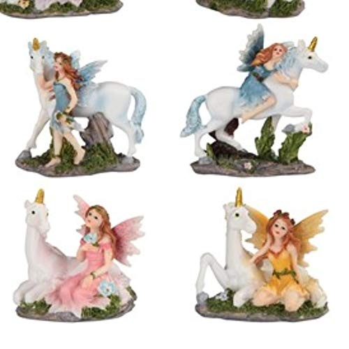 Paykoc Imports 3'' Miniature Faries and Unicorns for Fairy Garden Set of 12 by Paykoc Imports (Image #2)