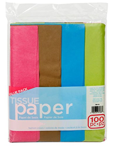 (ArtVerse Tissue Paper Fashion Art100pc 20 x 26 inches (100 Sheets),)