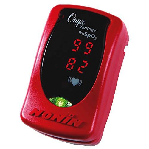 Nonin Onyx - Nonin 9590 Onyx Pulse Oximeter in Red