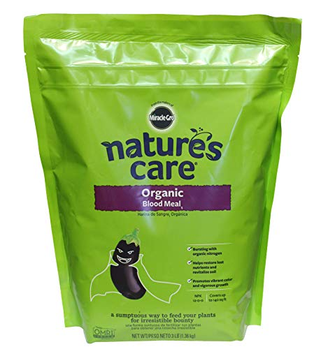 Miracle-Gro Nature's Care Organic Blood Meal  3 lb.