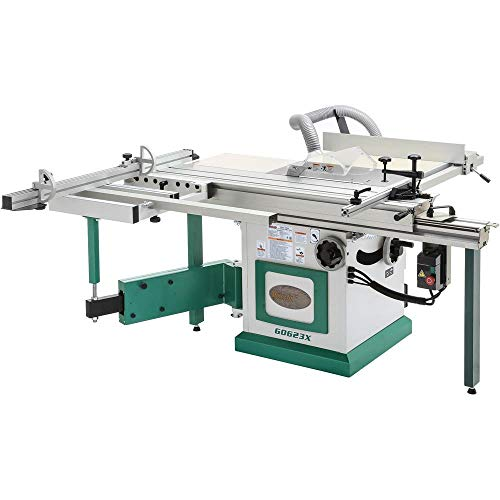 "Grizzly Industrial G0623X - 10"" 5 HP Sliding Table Saw"