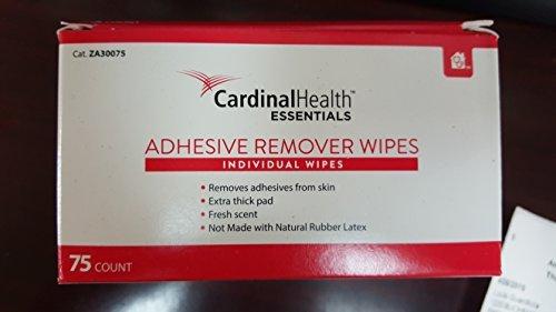 ZA30075EA - Cardinal Health Essentials Adhesive Remover Wipe 1-1/4 x 3