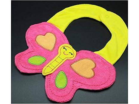Babero de miga de comida Animal de patrón creativo Toallas de saliva de bebé para niños ...