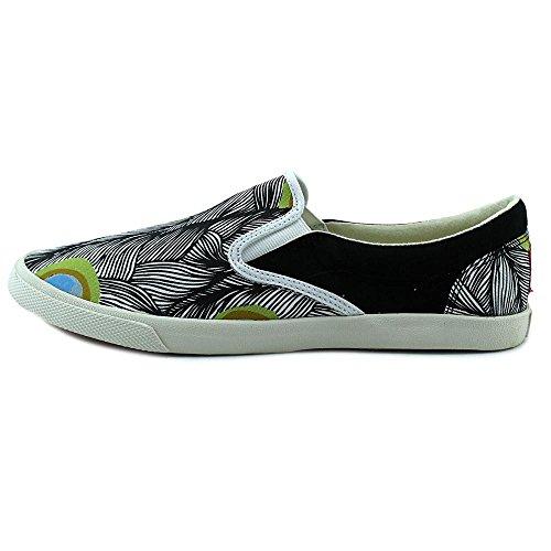 Bucketfeet Påfågel Kvinnor Oss 10 Multi Färg Mode Sneakers