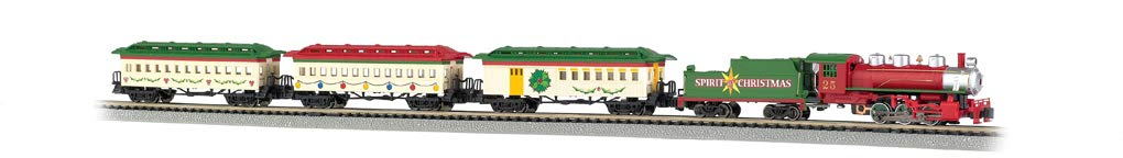 Bachmann Trains - Spirit Of Christmas Ready To Run Electric Train Set - N Scale by Bachmann Trains