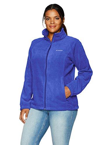 Columbia Women's Plus Size Benton Springs Full Zip Jacket, Dynasty, 1X