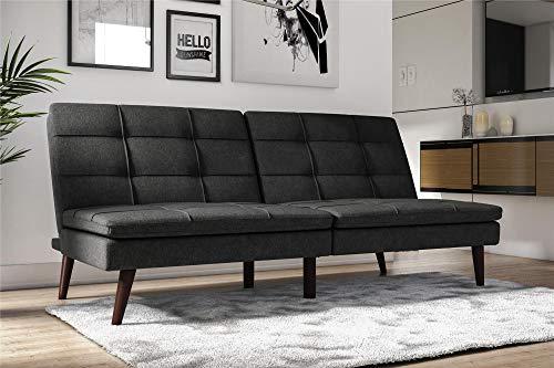 DHP Westbury Linen Pillowtop Futon, Grey Linen for $<!--$235.43-->