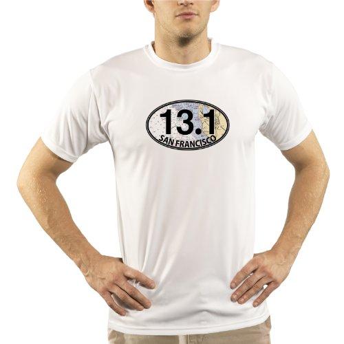 Split Time Men's San Francisco 13.1 UPF Short Sleeve Running T-Shirt XXX-Large - Marathon San Shirt Francisco