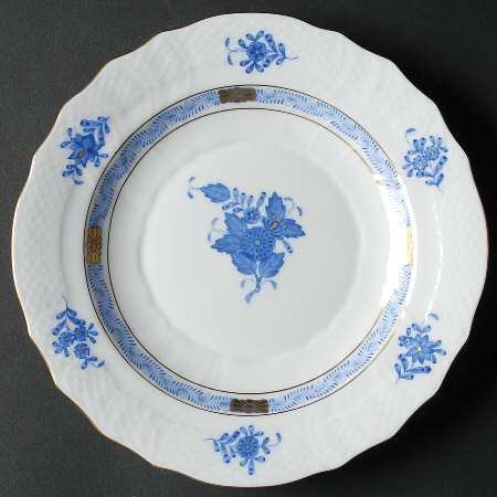 Herend Chinese Bouquet-Blue (Ab) Salad Plate, Fine China Dinnerware ()