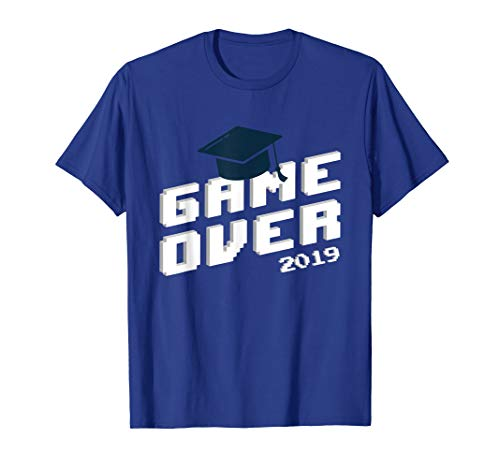 Funny Graduation shirt, Senior Gamer t-shirt 2019 Grad gift