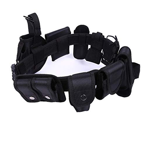 Byyong Durable Tactical Belt Equipment System Security Military Style Tactical Duty Utility Belt Multifunction Holster Police Concealed Portable Waistband