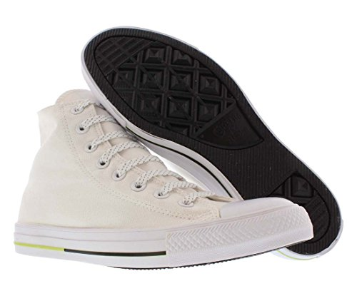 Converse AS Hi Can charcoal 1J793 Unisex-Erwachsene Sneaker White / Volt / Black