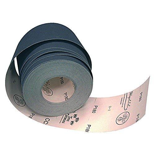 Flexovit 63642579013 Rollos de Papel 180 Grano DEBRAY 100 mm A x 50m L Tres Coronas CC2