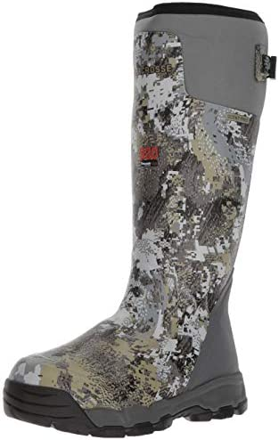 "Men's Alphaburly Pro 18"" 800G Hunting Shoes, Optimal Elevated II, 8 D US"