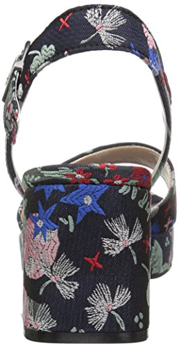 CL by Chinese Laundry Women's Kensie Heeled Sandal Navy Silk 9h8IFp