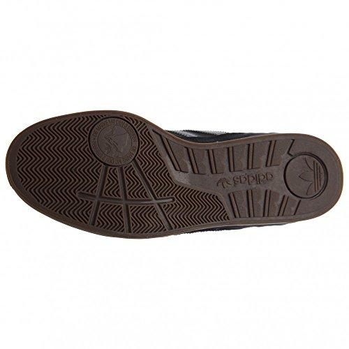Adidas Skateboarding Zx Vulc Negro / onix / colegiata Red zapatilla de deporte 6 D (m) Black/Iron Metallic/Gum5