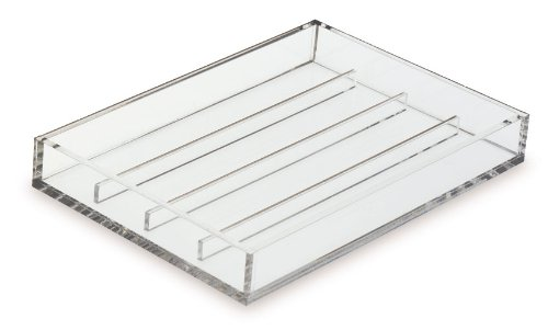 (Clearform ML7321 Clear Acrylic Tissue Cassette Processing Tray, Large)