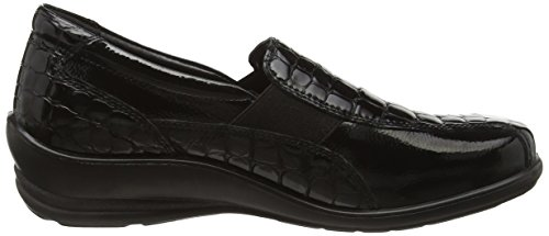 croc Shoes Slip Casual Skye Patent On Black Women's Padders qXfw88