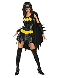 Rubie's Costume Dc Comics Secret Wishes Sexy Deluxe Batgirl Adult Costume