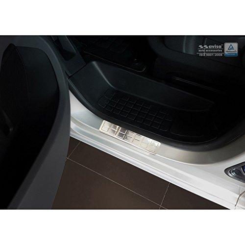 Autostyle 2/16301 - Protector para umbral de Puerta Rectangular, Color Plateado: Amazon.es: Coche y moto