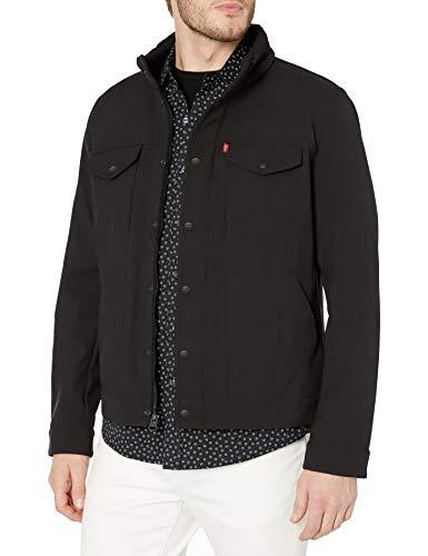 Levi's Men's Soft Shell Stand Collar Commuter Trucker Jackets