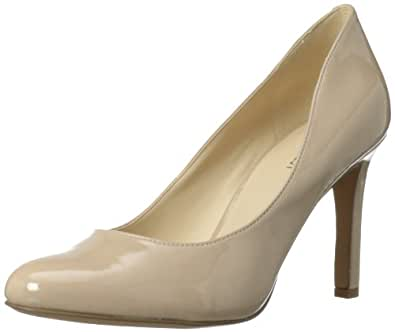 Nine West Women's Gramercy Dress Pump,Taupe Synthetic,9 M US
