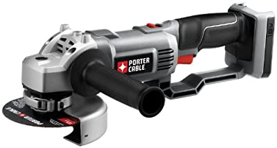 PORTER-CABLE Bare-Tool PC18AG 18-Volt Cordless Expansion Angle Grinder (Tool Only, No Battery)