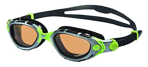 Zoggs 315908-837 Predator Flex Reactor Ultra L/XL Grey-Green/Copper (Goggles Predator)